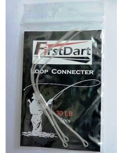 FirstDart Braided Loop Connector Fly Leader Loop