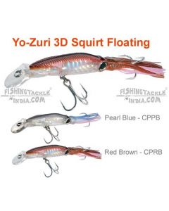 Yo-Zuri 3D SQUIRT FLOATING Hard Lures