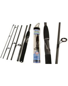 """Shakespeare TRAVELMATE 6' 6"""" (6 Section) Travel Rods"""