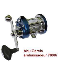 Abu Garcia AMBASSADEUR 7000i GS Electric Blue Multiplier Reel