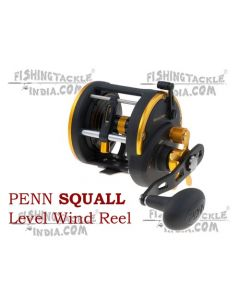 Penn SQUALL Level Wind SQL30LWLH Multiplier Reel