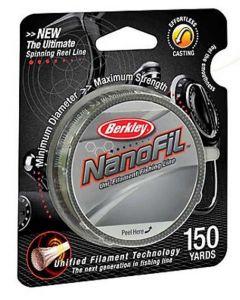 Berkley NanoFil Low-vis Green Braided Line
