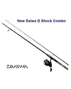 "Daiwa New D-Shock 6' 6"" Fresh Water Spinning Combo"