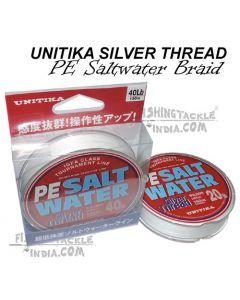 UNITIKA Silver Thread PE Saltwater Braided Lines