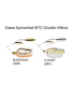 Daiwa BITZ Double Willow 5/16oz Spinner Baits