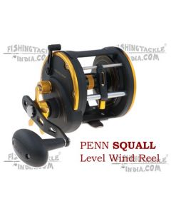Penn SQUALL Level Wind SQL15LW(Right) Multiplier Reel