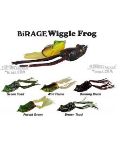 BiRAGE WIGGLE FROG JR. 50mm(12.5g) , 60mm(14.5g) Frog Lure