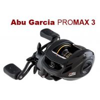 Abu Garcia PRO MAX 3(Right handle) Baitcasting Reel