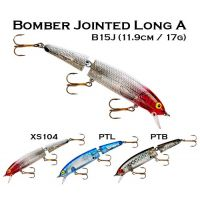 Bomber Jointed Long A(11.9cm / 17g) Hard Lures