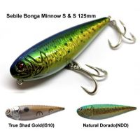 Sebile Bonga Minnow S & S 125mm / 60g Hard Lures
