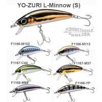 Yo-Zuri L-Minnow(S) 33mm(3.5g) / 44mm(5g) / 66mm(7g) Hard Lures