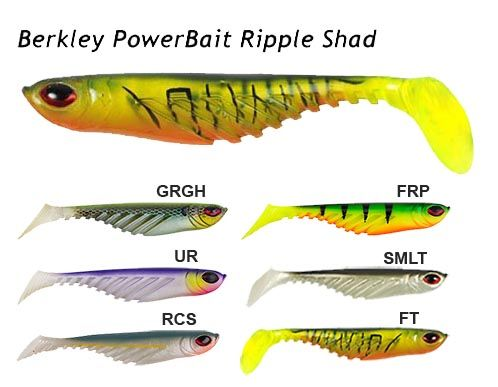 Berkley Power Bait Ripple Shad RRP £5.95