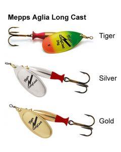 Mepps Aglia Long cast Spinners (Size 2/3/4/5)
