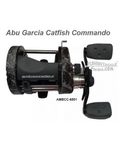 Abu Garcia Catfish Commando Multiplier reel