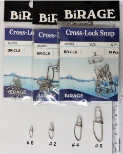 BiRAGE Cross-Lock Snaps