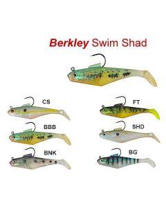 "Berkley PowerBait Pre-Rigged Swim Shad 3"" / 4"" Soft Baits"
