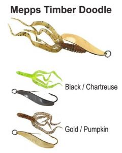 Mepps Timber Doodle Size 0 / Size 1 Soft Baits