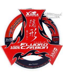 Xzoga Fluorocarbon Leader (30Lb/40Lb/50Lb/60Lb/80Lb/100Lb)
