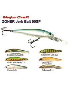 Major Craft ZONER Jerk Bait 90 SP Hard Lures