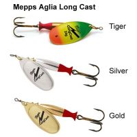 Mepps Aglia Long cast Spinners (Size 2/3/4/5)