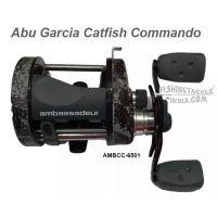 Abu Garcia Catfish Commando Multiplier reel