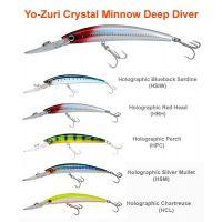 Yo-Zuri CRYSTAL MINNOW DEEP DIVER 90mm / 110mm Hard Lures