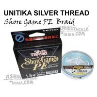 UNITIKA Silver Thread Shore Game PE Braided Lines